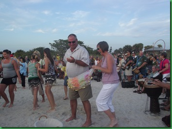 Saturday Full Moon & drumming 098
