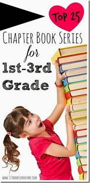 top 25 chapter book series for 1st-3rd grade