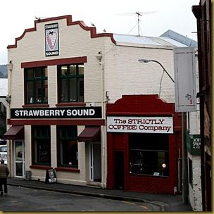 Strictly Coffee Company and Strawberry Sound Dunedin