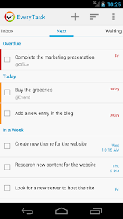 EveryTask | GTD To-do List - screenshot thumbnail