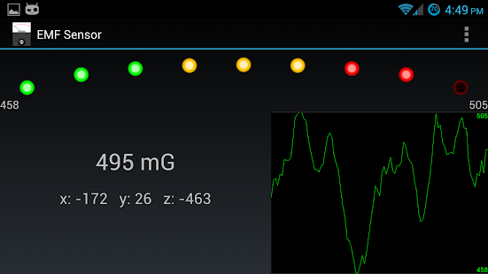 EMF Sensor - screenshot thumbnail
