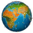 World Map Atlas 2019 icon