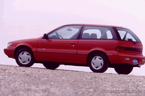 1991 Eagle Summit Sedan Specifications  Pictures  Prices