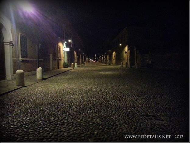 Corso Ercole I d'Este by night, photo1, Ferrara, Emilia Romagna, Italy - Property and  Copyrights of FEdetails.net