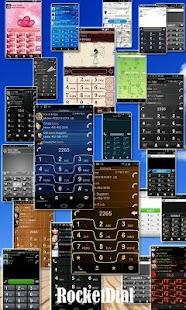 玩免費通訊APP|下載RocketDial Razr Blue Theme app不用錢|硬是要APP