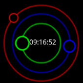 Circle LiveWallpaper Clock