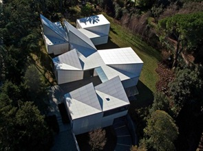 cubiertas Casa AA Arquitectos OAB Barcelona