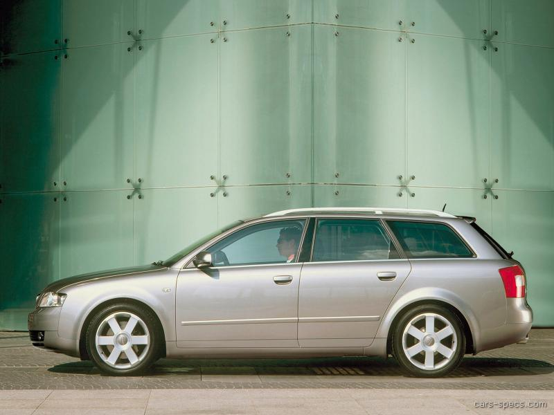 2002 audi a4 wagon specifications pictures prices. Black Bedroom Furniture Sets. Home Design Ideas