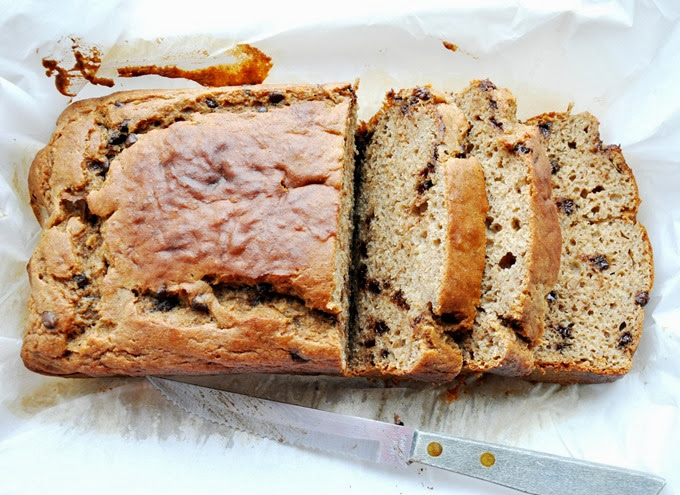 chocolate chip buttermilk banana bread 018