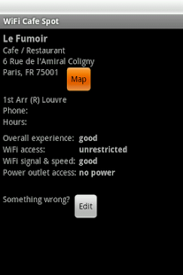 Paris Free WiFi- screenshot thumbnail