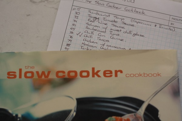 Declutter your cookbooks (1)