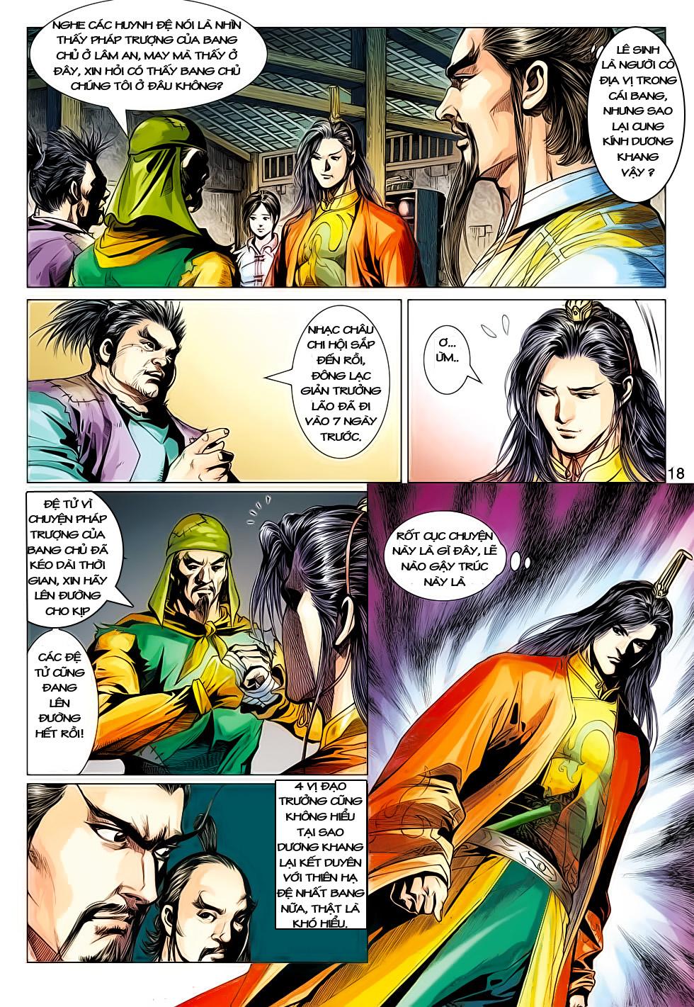 Anh Hùng Xạ Điêu anh hùng xạ đêu chap 61: thất tử chiến thiết thi trang 18