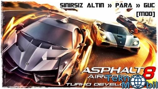Asphalt 8 v1.4.0 Sınırsız Para Hileli Apk