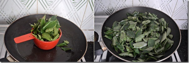 curry leaves kuzhambu