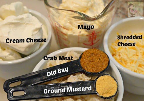 Crab Dip Ingredients