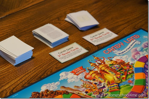 picture relating to Printable Candyland Cards identify Absolutely free Candyland Sight Phrase Activity (PreK-3rd quality) 123