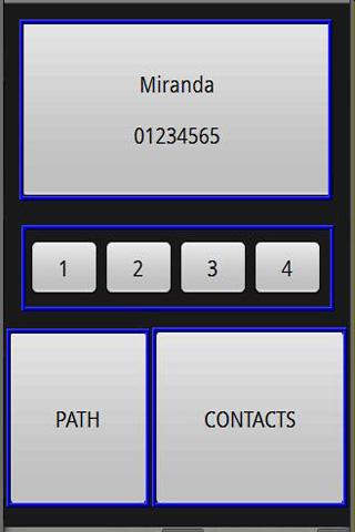 GSM contacts voice control