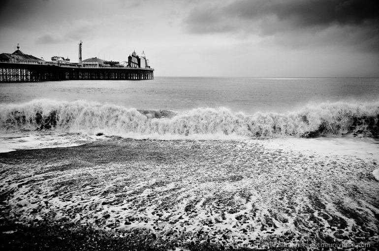 Brighton beach 2 by flickr user dogfrog