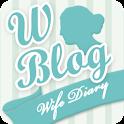人妻日記 logo
