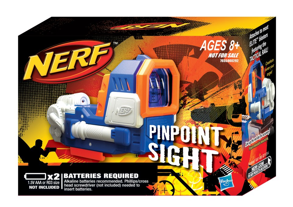 Nerf Pinpoint Sight Blue Version Singapore Nerf Its Nerf Or