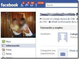 Contador de visitas en Facebook