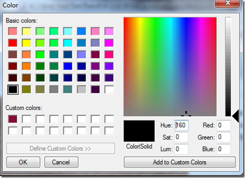 color chart more