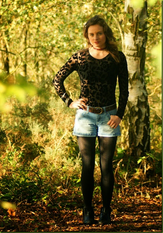 black lace in the countryside