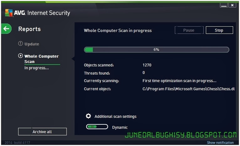 Free Download AVG Internet Security 2014 Full Serial Key 02