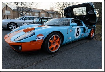 Katie's Cars and Coffee - Ford GT Gulf