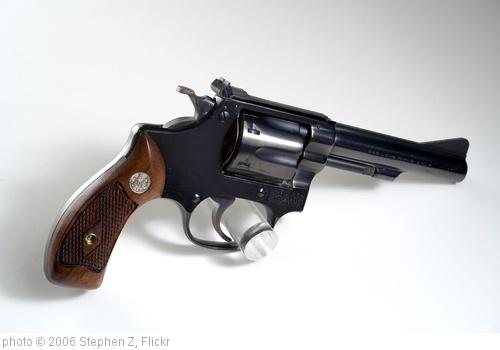 'S&W Pre 34 22/32 Kit Gun 1950's' photo (c) 2006, Stephen Z - license: http://creativecommons.org/licenses/by-sa/2.0/