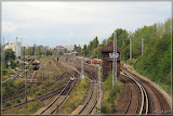 Blick zum S-Bahnhof Greifswalder Str.
