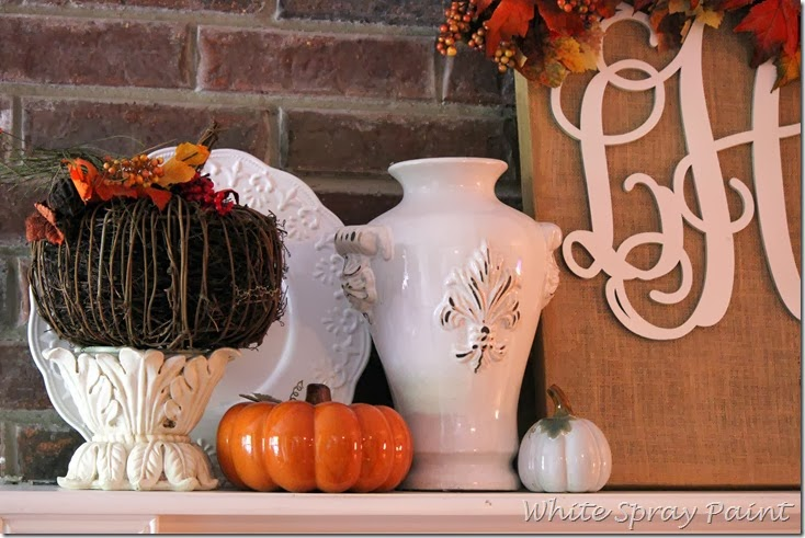 Fall Mantel 2013 (2)