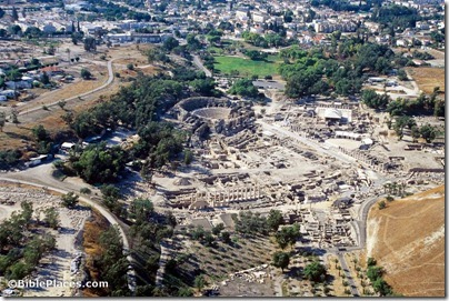 Beth Shean aerial from northeast, tbs118210011