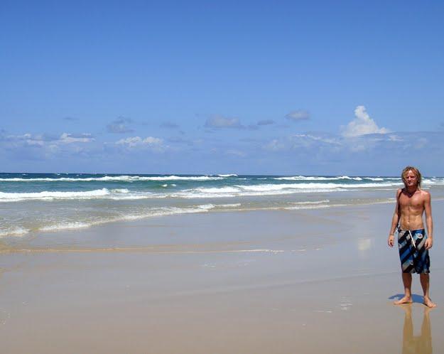 Me on Fraser Island