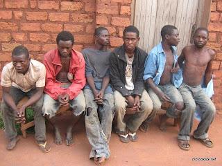 Des congolai expulsés de l'Angola, sortis par Kandjadji