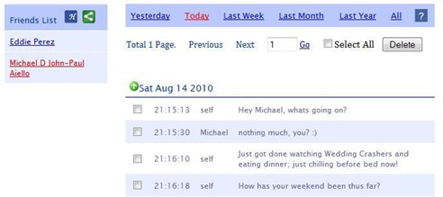 Facebook Chat History Viewer