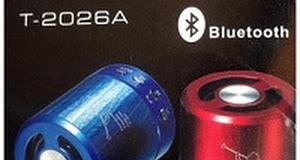 Loa Bluetooth T2026A- Âm Thanh Hay