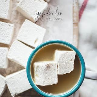 Apple Cider Marshmallows