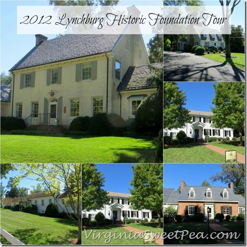 2012 Lynchburg Historic Home Tour Collage