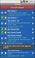 Screenshot of EasySky Guida TV