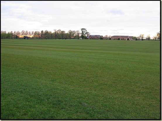 Polo field in Peover Superior