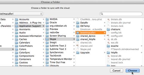 Leniel Maccaferri's blog: Backup Mac OS Skype chat history