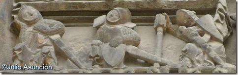 Iglesia del Santo Sepulcro - Soldados - Estella
