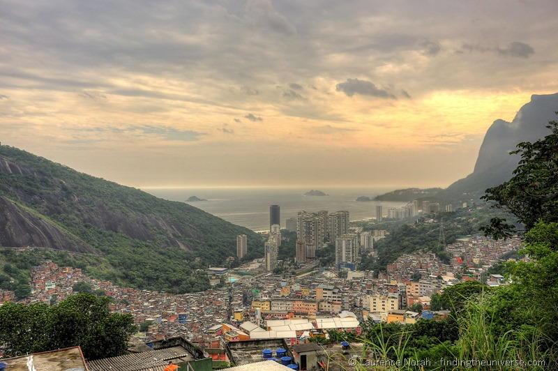 favela rocina rio brazil