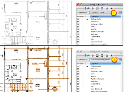 All my work is greyed out and I can draw lines and walls
