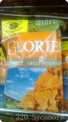 dollar store sweet potato chips