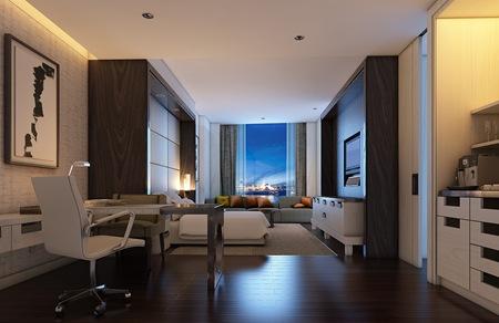 20110505 Standard Room night view