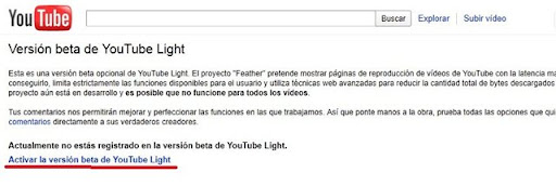 YouTube Light