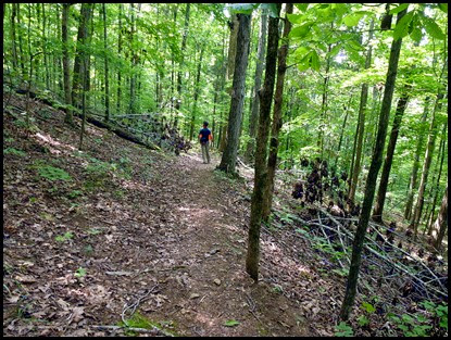01f - Lost Springs Trail - What goes up must come down
