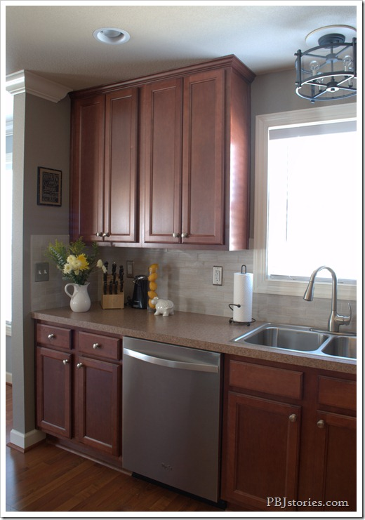 Pbjstories Our Kitchen Makeover Small Changes Make A Big